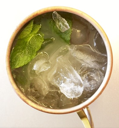 Moscow Mule from above_